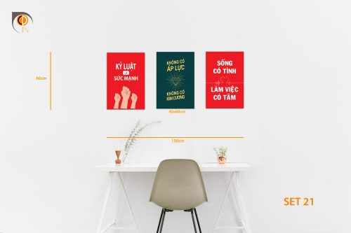 tranh slogan, tranh động lực, tranh bộ slogan, bộ tranh động lực, bộ tranh văn phòng, chungdenroi, tranh khẩu hiệu